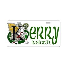 Kerry Aluminum License Plate