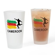 Stylish Cameroon Football Pint Glass