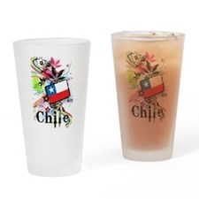 Flower Chile Pint Glass