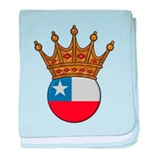 King Of Chile baby blanket