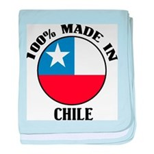 Made In Chile baby blanket