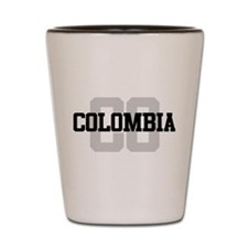 CO Colombia Shot Glass