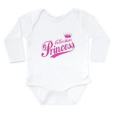 Colombian Princess Long Sleeve Infant Bodysuit