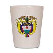 Colombia Coat Of Arms Shot Glass