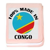 Made In Congo baby blanket