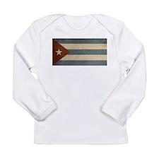 Vintage Cuba Long Sleeve Infant T-Shirt