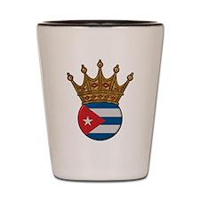 King Of Cuba Shot Glass