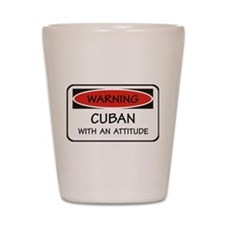 Attitude Cuban Shot Glass