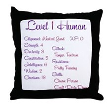 RPGirl Throw Pillow