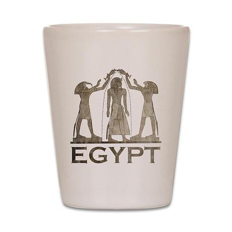 Vintage Egypt Shot Glass