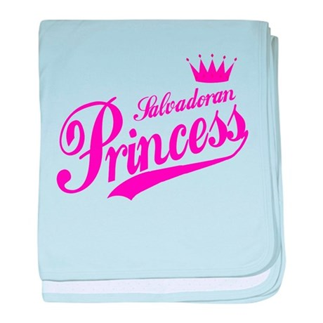 Salvadoran Princess baby blanket