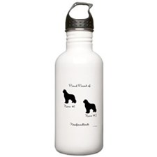 2 Newfoundlands Water Bottle