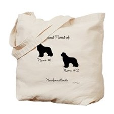 2 Newfoundlands Tote Bag