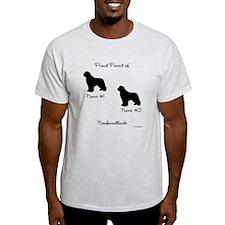 2 Newfoundlands T-Shirt