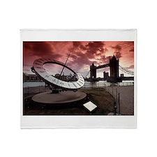Tower Bridge London Throw Blanket