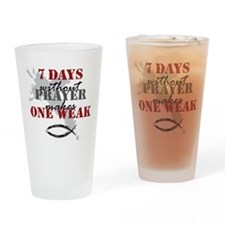 7 days Pint Glass