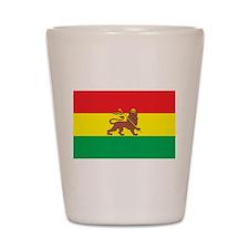 Ethiopia Flag 1897 Shot Glass