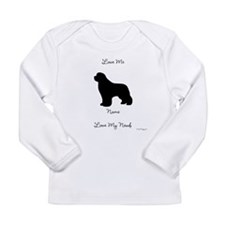 1 Newfoundland Long Sleeve Infant T-Shirt