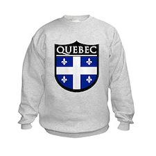 Quebec Flag Patch Sweatshirt