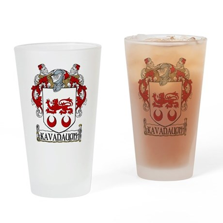 Kavanaugh Coat of Arms Pint Glass