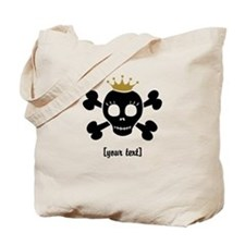 [Your text] Princess Skull Tote Bag