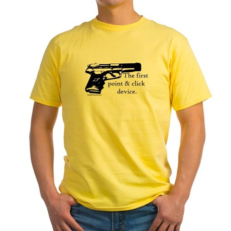 The first point & click device Yellow T-Shirt