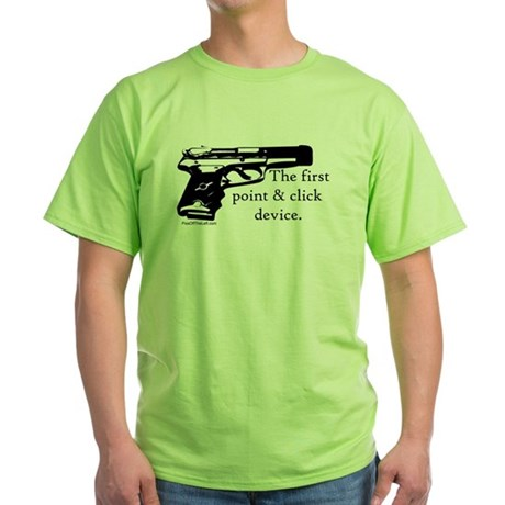 The first point & click device Green T-Shirt