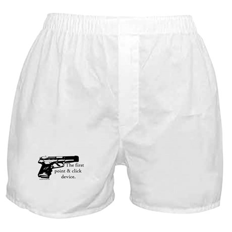 The first point & click device Boxer Shorts