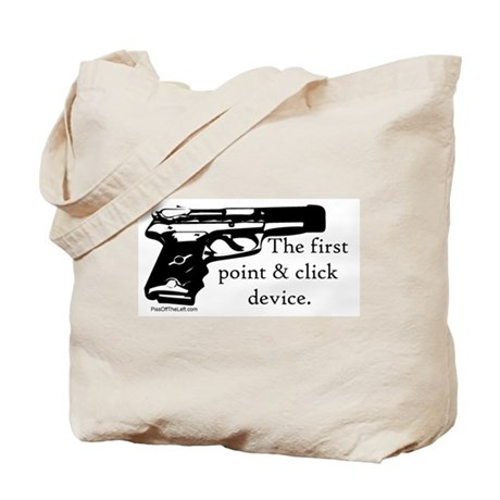 The first point & click device Tote Bag