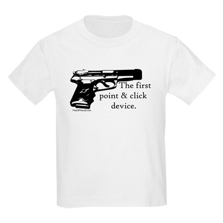 The first point & click device Kids T-Shirt