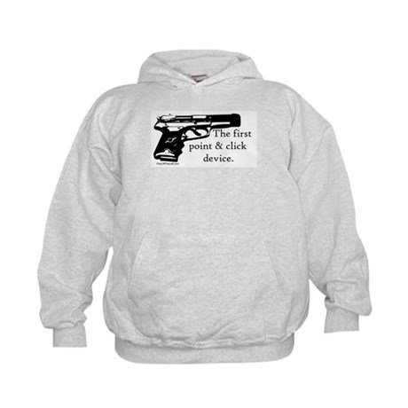 The first point & click device Kids Hoodie