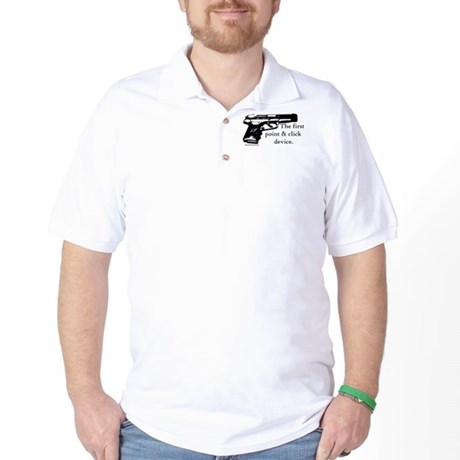 The first point & click device Golf Shirt
