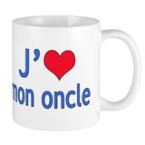 I Love Uncle (French) Tasse