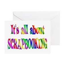 About Scrapbooking Greeting Card