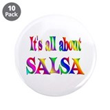 "About Salsa 3.5"" Button (10 pack)"