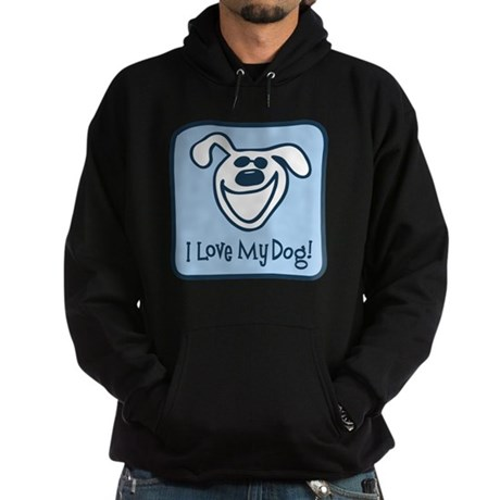 I Love My Dog Hoodie (dark)