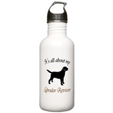 All About Lab Water Bottle