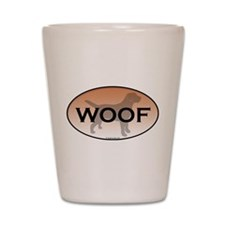 Labrador Woof Shot Glass