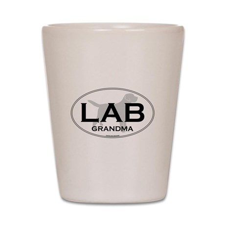 LAB GRANDMA II Shot Glass