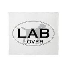 LAB LOVER II Throw Blanket