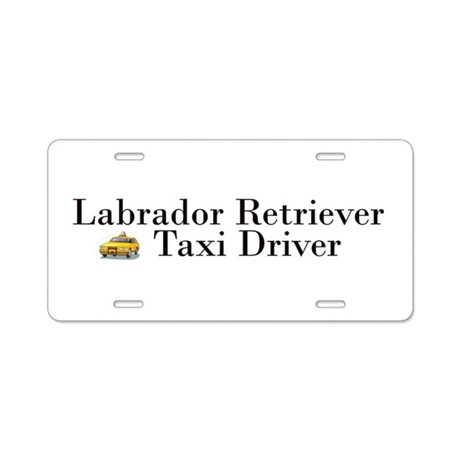 All Lab Taxi Aluminum License Plate
