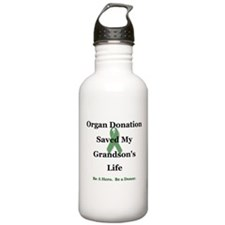 Grandson Transplant Water Bottle