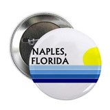 "Funny Naples florida 2.25"" Button (10 pack)"