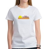 Funny Surfing florida Tee