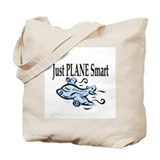 Just Plane Smart Tote Bag