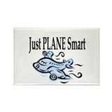 Just Plane Smart Rectangle Magnet