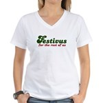 Festivus Women's V-Neck T-Shirt