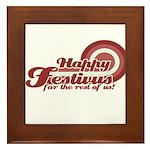 Happy Festivus Framed Tile