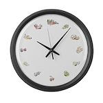 Fruit circle Large Wall Clock