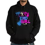West end Girl Hoodie (dark)